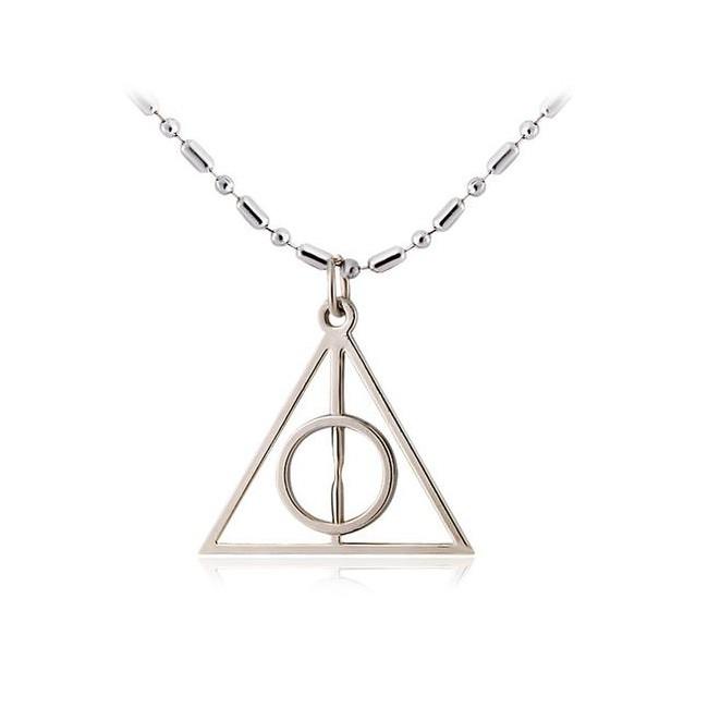 Кулон Дары Смерти - знак Гарри Поттера фото