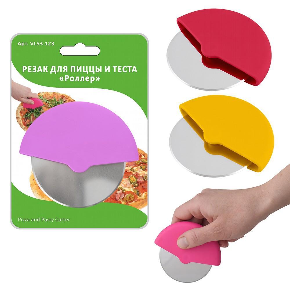 Резак для теста и пиццы - Роллер, 9,5х8,5 см