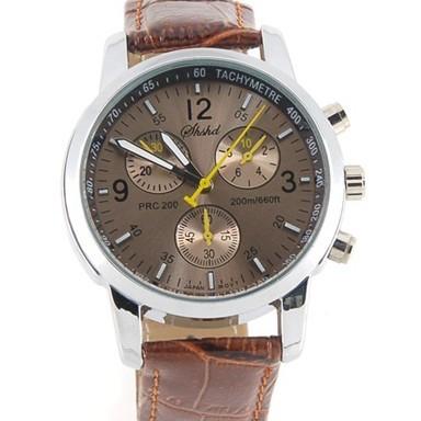 Модные кварцевые часы - коричневыеМеханические часы<br>Если вы цените сочетание долговечности и изысканного стиля, то скорее покупайте коричневые кварцевые часы. Это изделие выгодно подчеркнет ваш статус и будет всегда показывать четкое время!<br>