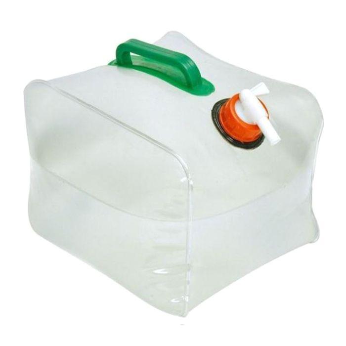 Канистра туриста складная - 20 лФляжки и канистры<br>Любите походы или просто отдых на природе? Тогда вам просто необходима надежная и удобная емкость для хранения воды. Складная канистра туриста станет настоящей находкой, ведь позволит забыть о неудобных и недолговечных пластиковых бутылках, а также не оставит вас без воды!<br>