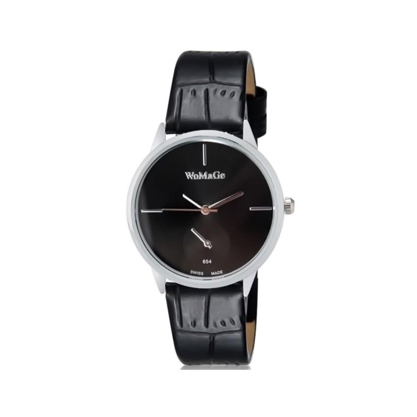 Строгие женские часы WoMaGe черные