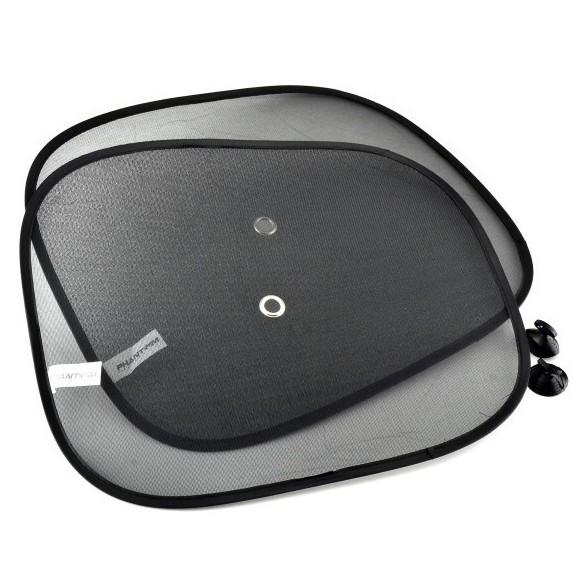 Экран солнцезащитный на боковое стекло Phantom, 2 шт, 36x44 смСолнцезащитные экраны<br>Защищает пассажиров от прямых солнечных лучей. Предотвращает нагревание салона автомобиля. Прост в установке. Может устанавливаться на любые стекла. Компактно складывается, что позволяет хранить его в любом месте<br>