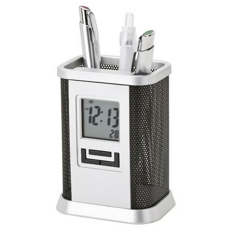 Настольные часы-органайзер Penholder Clock