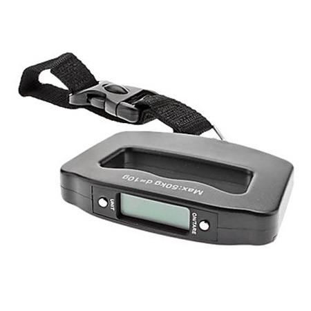Электронный безмен до 50 кгКухонные весы<br>Цифровой безмен удобно брать с собой в дорогу, будь то путешествие на самолете, поездка загород на рыбалку или поход за продуктами на рынок. Точность взвешивания до 100 грамм.<br>