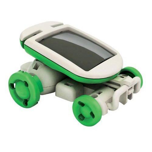 Конструктор Solar Robot Kits 6 в 1Товары для творчества<br>Ваш ребенок любит творить своими руками? Тогда вы просто обязаны купить любознательному малышу инновационный конструктор Solar Robot Kits 6 в 1. Удовольствию не будет предела, а главное – вы будете спокойны, ведь игрушка является экологически чистой и совершенно безопасной даже для аллергиков!<br>