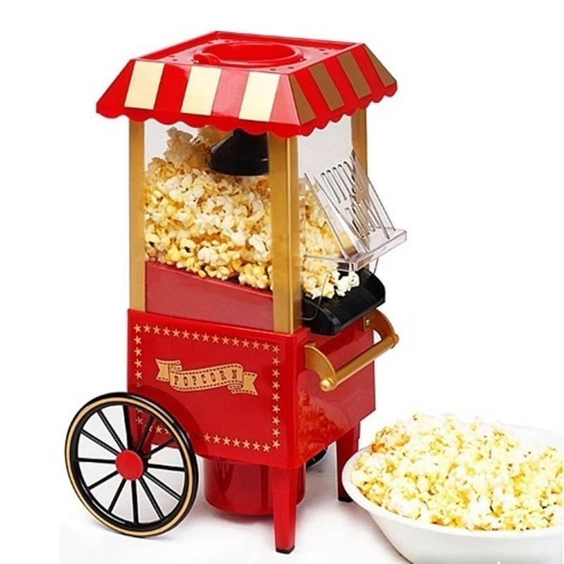 Аппарат для приготовления попкорна РетроДругая техника для кухни<br>Если в вашей семье главным лакомством при просмотре фильмов или других развлечениях является попкорн, то не стоит тратить деньги на пачки из супермаркетов. Благодаря аппарату для попкорна Ретро, вкусный и хрустящий попкорн всегда будет в вашем доме!<br>