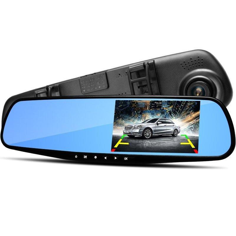 Зеркало видеорегистратор с камерой заднего вида Vehicle Blackbox DVR Full HD