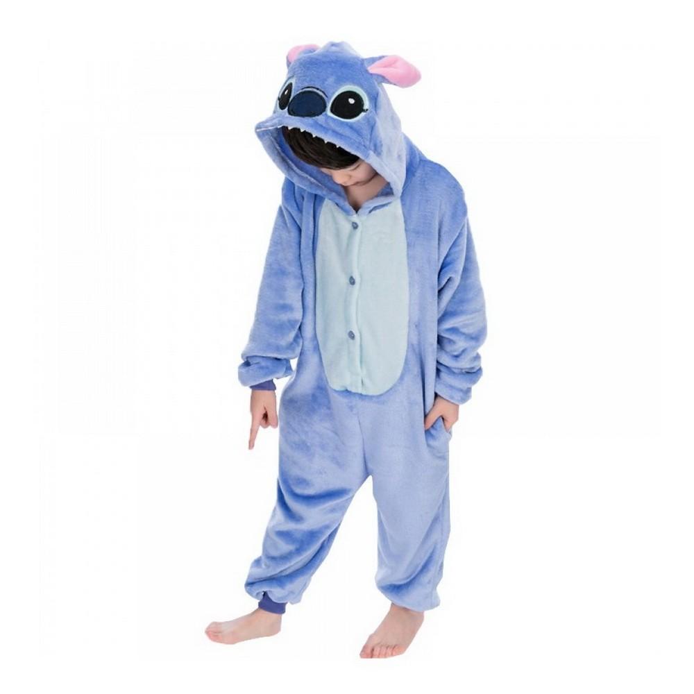 Пижама кигуруми Стич, детский, 130-140 см