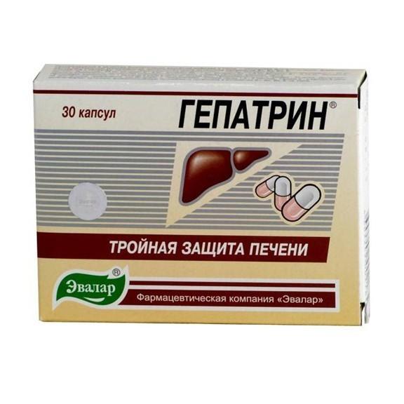 Гепатрин Эвалар для печени - 30 капсул фото