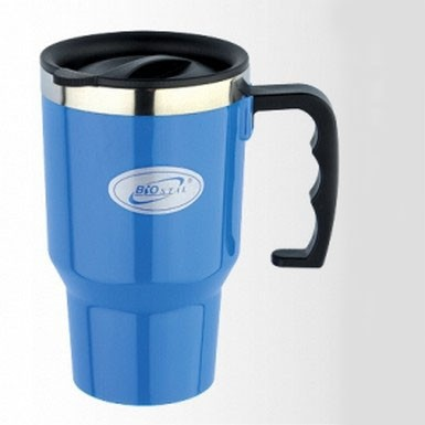 Кружка 0,45 л. Biostal-Авто 450NMР-РТермокружки<br>Стильная голубая кружка 0,45 л. Biostal-Авто 450NMР-Р станет роскошным презентом как для офисного работника, так и для человека, который порой просто не успевает сделать паузу на чай или кофе. Теперь вы всегда сможете насладиться любимым горячим напитком!<br>
