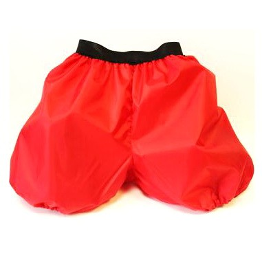 Санки-шорты 2 в 1 красные