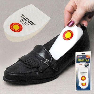 Стелька-подушка с памятью Memory Foam Heel CushionsМагнито-массажные стельки<br>Стельки-подушки под пятку с памятью «Memory Foam Heel Cushions» облегчат ходьбу при болях в пятках, исправят неудобную обувь. Принимают форму вашей ступни. Комфорт - это просто!<br>