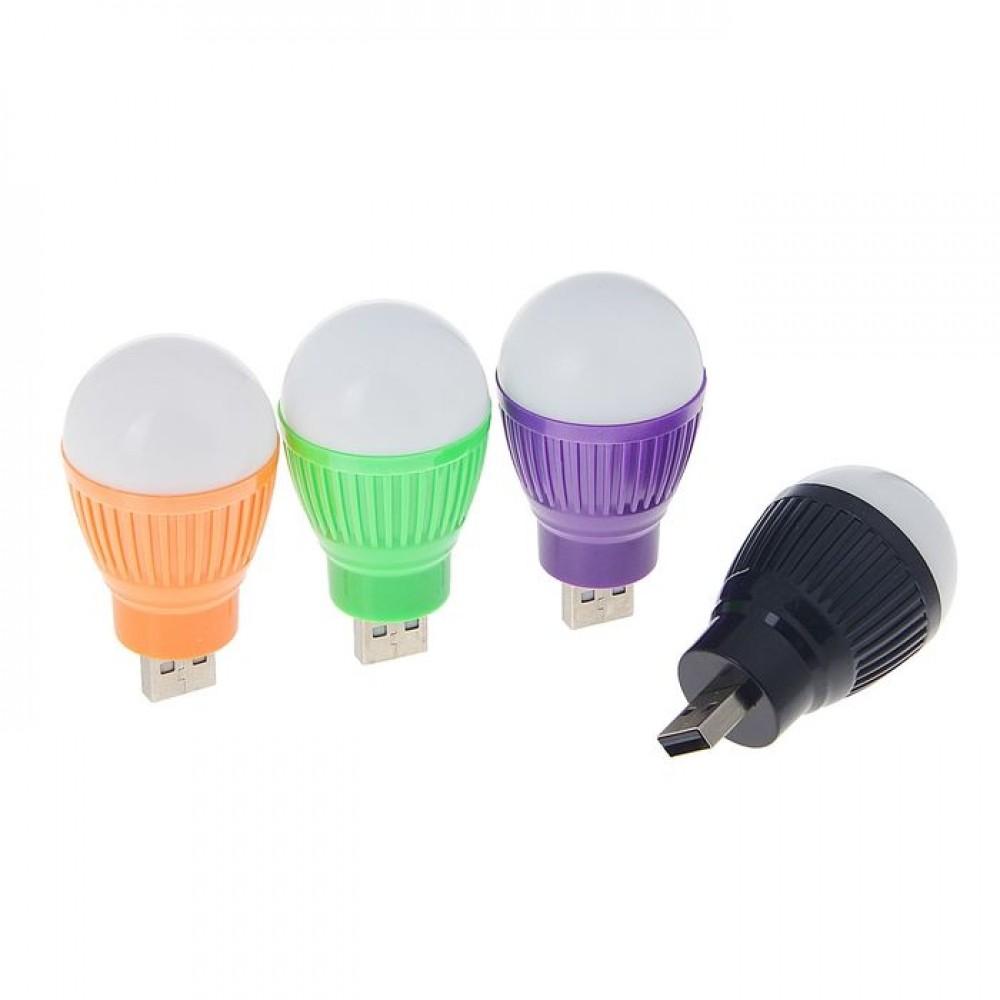 Светильник светодиодный Luazon, в USB, цвет микс