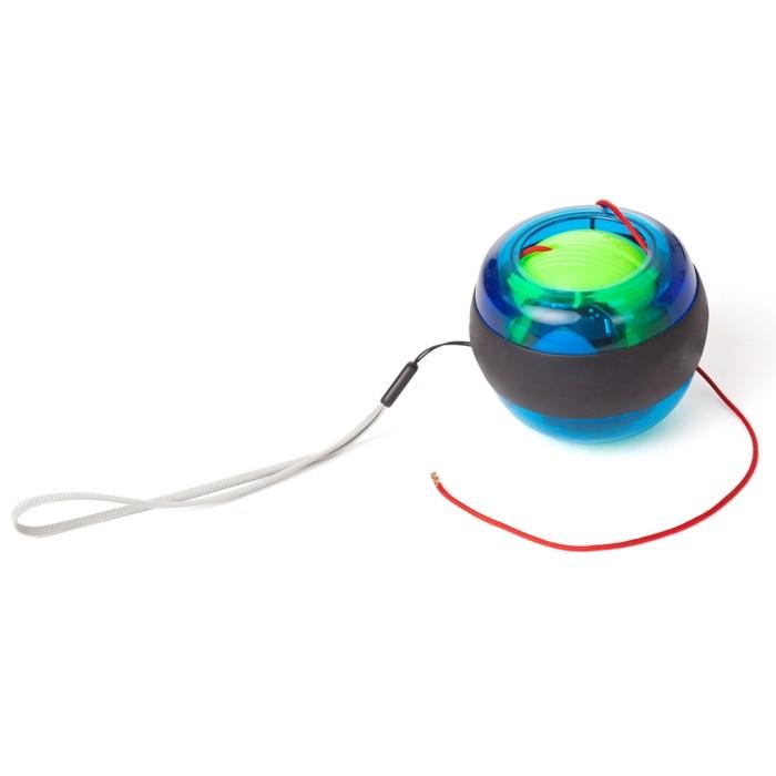 Гироскопический кистевой тренажер Gyroscope BallКистевые эспандеры<br>Как обеспечить себе красивые рельефные руки, повысить выносливость и цепкость рук в несколько раз? Если стандартные эспандеры не привлекают вас, то скорее знакомьтесь с гигроскопическим кистевым тренажером Gyroscope Ball. Изделие создает нагрузку 15 кг и буквально оживает в ваших руках!<br>