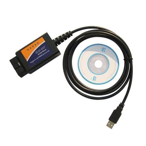 Адаптер ELM USB 327 для диагностики авто
