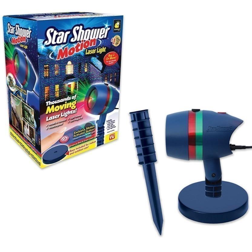 Купить со скидкой Лазерный проектор для дома Star Shower Motion