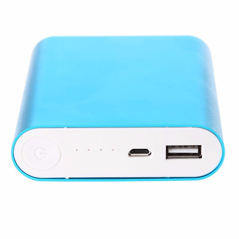 Power Bank 10400 mAh, синий