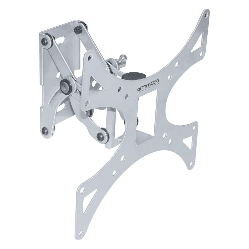 Кронштейн arm media 301-LCD whiteКронштейны<br>Наклонно-поворотный настенный кронштейн для ТВ с диагональю 15».40», весом до 30 кг.<br>