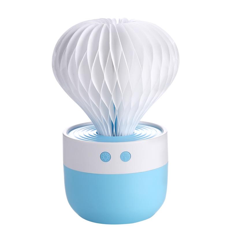 Мини Usb Увлажнитель воздуха Нumidifier Creative Cactus Shape , голубой