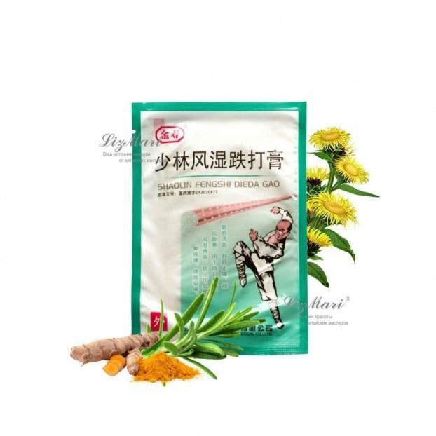 Китайский пластырь от боли в суставах Shaolin Fengshi Dieda Gao от MELEON