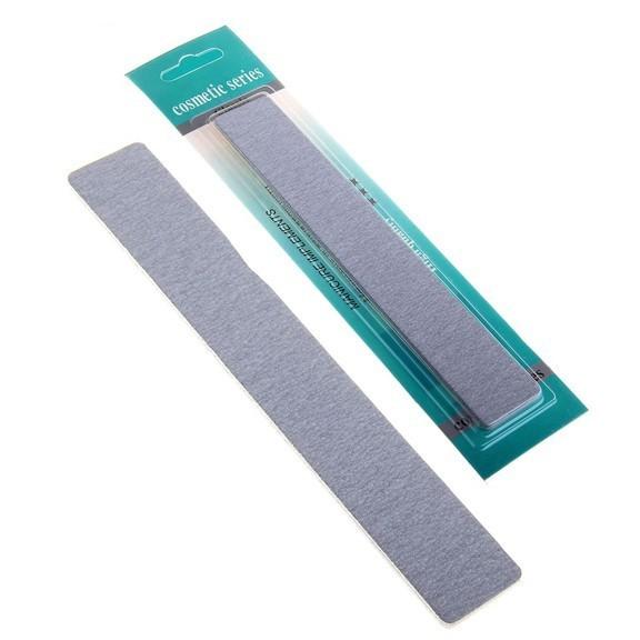 Пилка для ногтей Cosmetic series наждачная , цвет серыйПилки для ногтей<br>Ваши ногти – ваша визитная карточка. А поэтому так важно сохранять их здоровый и ухоженный внешний вид. Воспользуйтесь маникюрными принадлежностями, чтобы самостоятельно и в домашних условиях создавать аккуратный маникюр.<br>