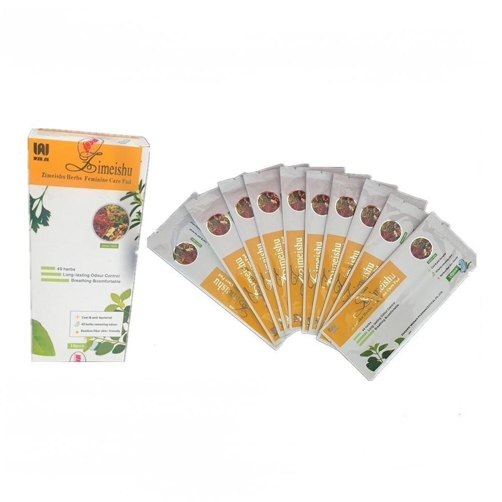 Фитопрокладки Зимейшу (Zimeishu Herbs Femine ...