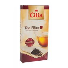 Фильтры для чая, 80шт. Melitta 120710Аксессуары для заваривания чая<br>Melitta Cilia - бумажные фильтры для заваривания листового и гранулированного чая. Расширенное дно обеспечивает достаточно пространства для раскрытия листьев чая.<br>
