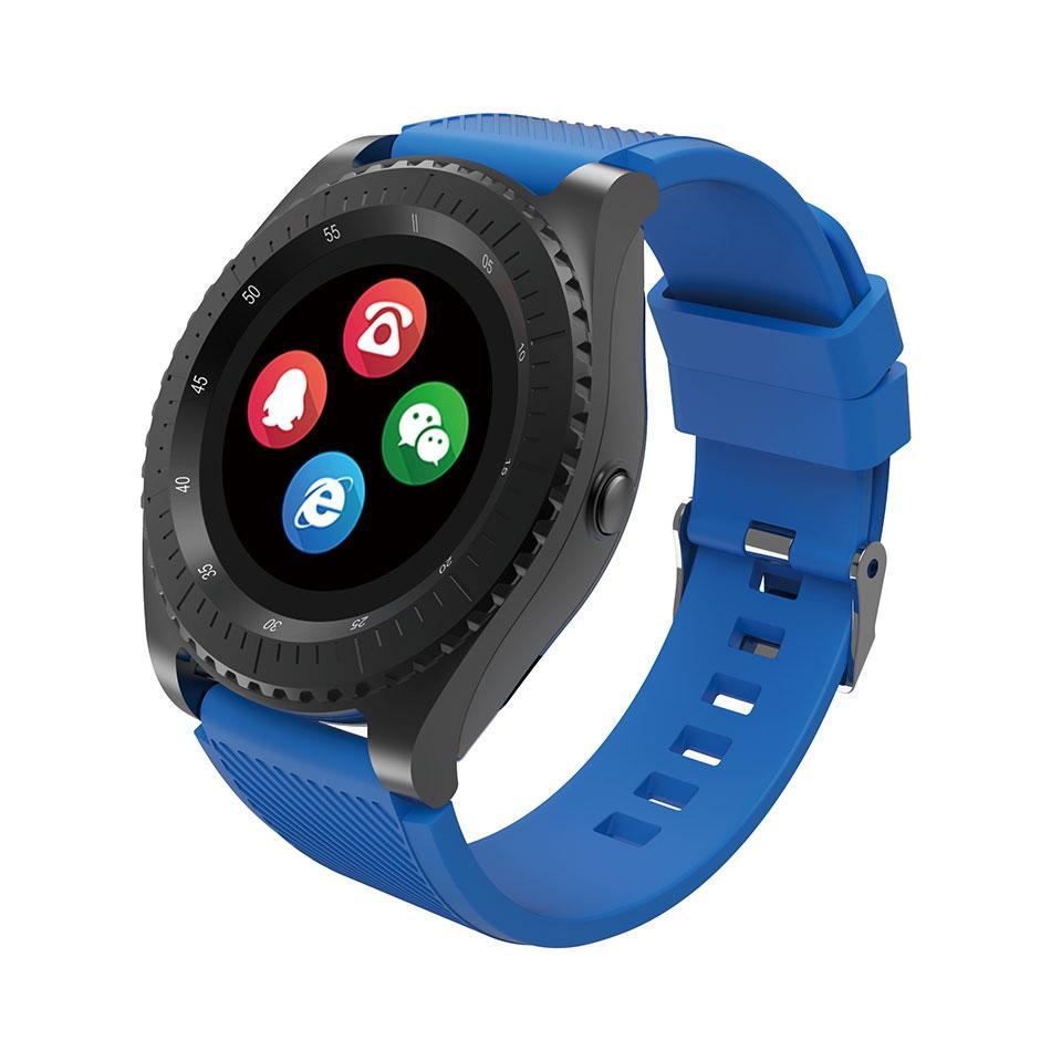 Умные часы Smart Watch Fitness Smart Bracelet - Z3, синий