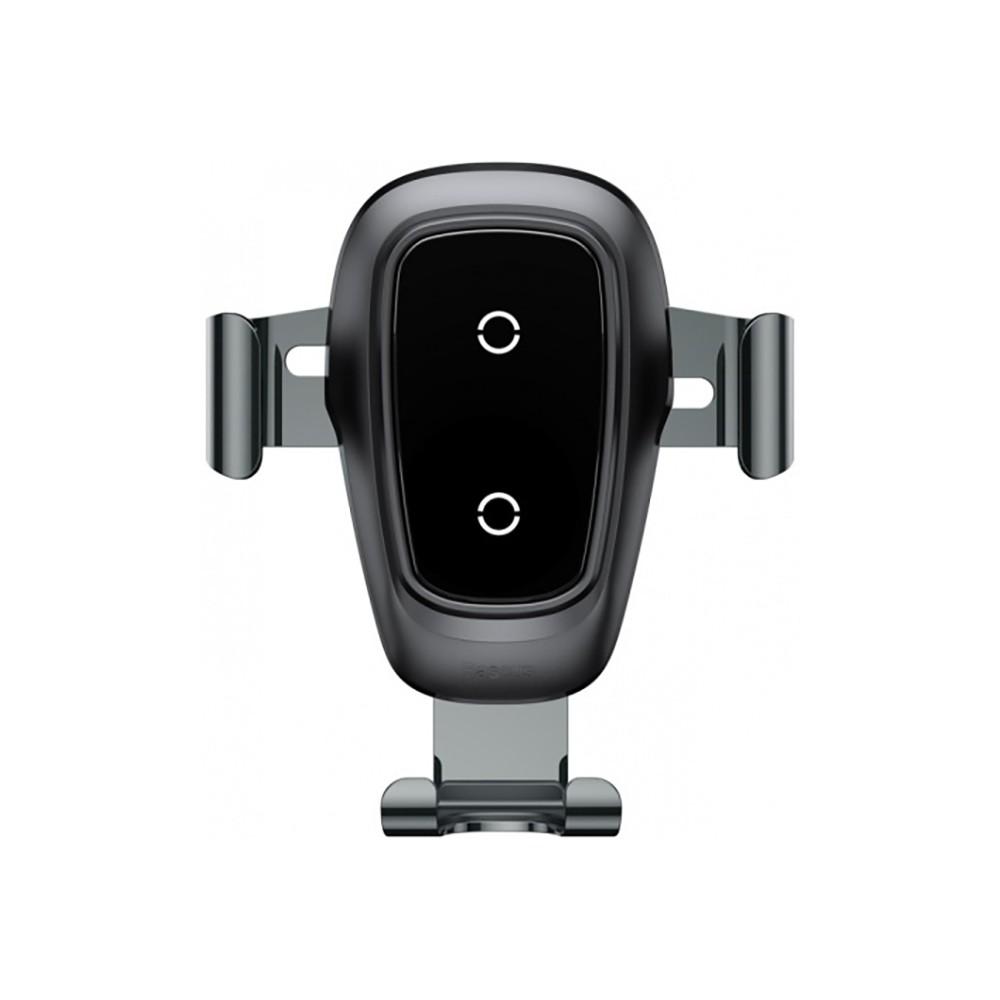 Автомобильное зарядное устройство Baseus Wireless Charger Gravity Car Mount, чёрный