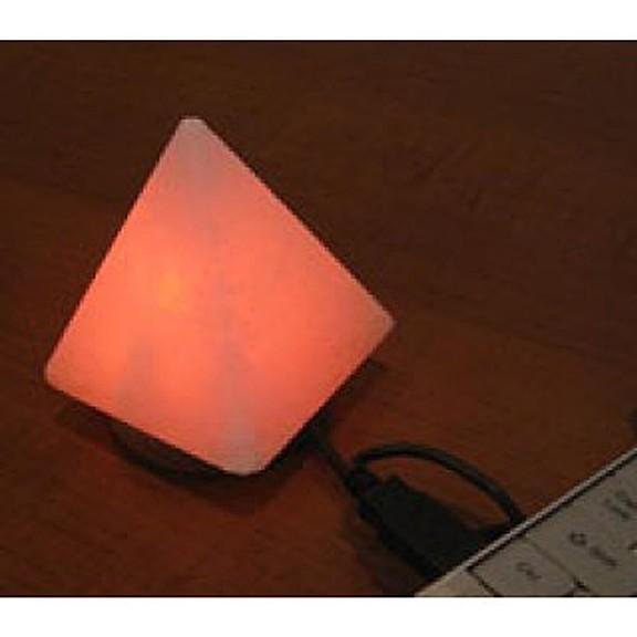 Солевая USB лампа Wonder Life - Пирамида