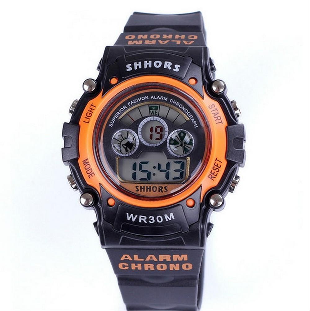 Спортивные цифровые LED часы SHHORS HT-353
