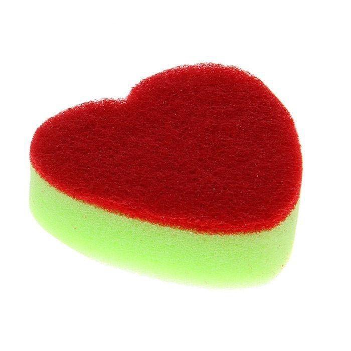 Губка для мытья посуды - Сердце от MELEON