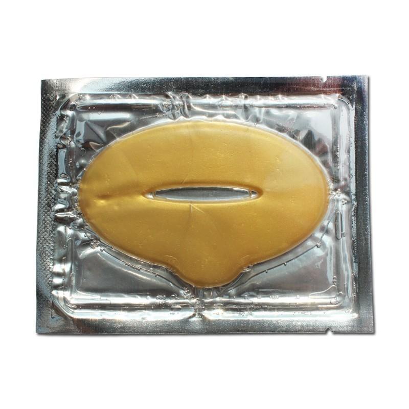 Золотая маска для губ с коллагеномКосметика для губ<br>Являетесь обладательницей тонких губ? А может ваши губы постоянно подвергаются негативному влиянию раздражителей (мороз, ветер и так далее)? Отбросьте в сторону мысли о хирургическом вмешательстве. Золотая маска с коллагеном подарит вам роскошные пухлые губы в домашних условиях. Это – эффективное и простое в использовании средство, которое вы можете купить по смешной цене в интернет магазине Мелеон!<br>