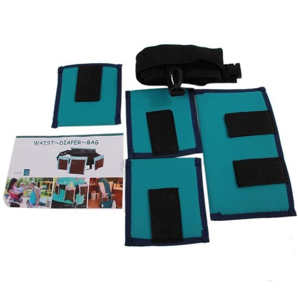 Универсальный пояс с карманами Waist Diaper Bag