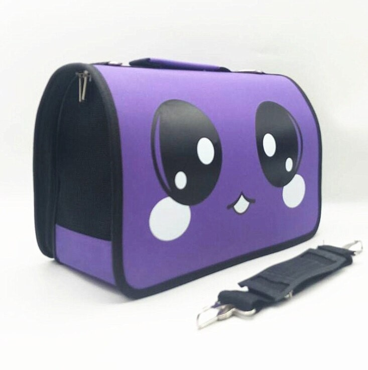 Складная сумка-переноска для домашних животных, 37х18х22 см фото