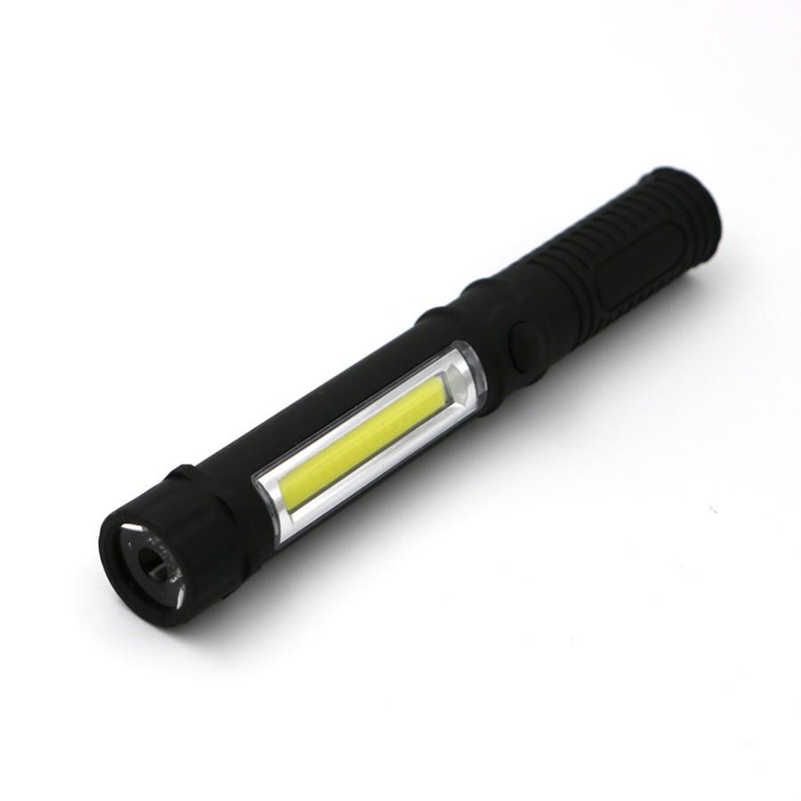 Яркий светодиодный фонарик на магните, черныйФонари<br>В подъезде темно, потому вы часто не можете попасть ключом в замок? Возвращаетесь с работы поздно, потому нуждаетесь в качественном освещении дороги, а телефон предательски разряжен? Посмотрите.яркий светодиодный фонарик на магните. Этот аксессуар подарит вам качественное освещение в любых условиях!<br>