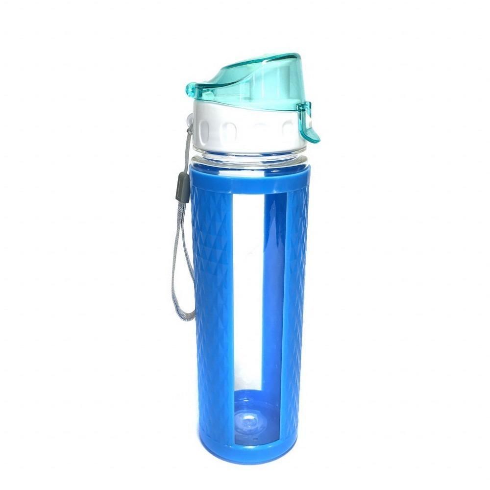 Бутылка для воды с вакуумным клапаномФляжки и канистры<br>Занимаетесь спортом или просто ведете активный образ жизни? Бутылка для воды с вакуумным клапаном станет для вас верной спутницей, которая всегда утолит жажду. Благодаря специальной конструкции, вода никогда не прольется!<br>