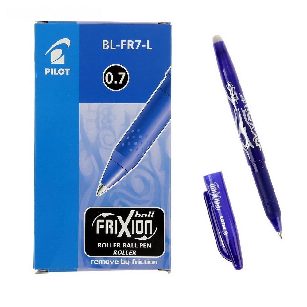 Ручка - Пиши-Стирай, гелевая Pilot Frixion 0.7 мм стержень синийКанцелярские товары<br>Если ваш ребенок только учится писать и часто допускает ошибки, то вы знаете, как чадо расстраивается порой, перечеркивая свои старания. Подарите ему радость в обучении, благодаря инновационной гелевой ручке «Пиши-Стирай», Pilot Frixion, 0,7 мм. Этот аксессуар обязательно пригодится и вам при заполнении документов!<br>