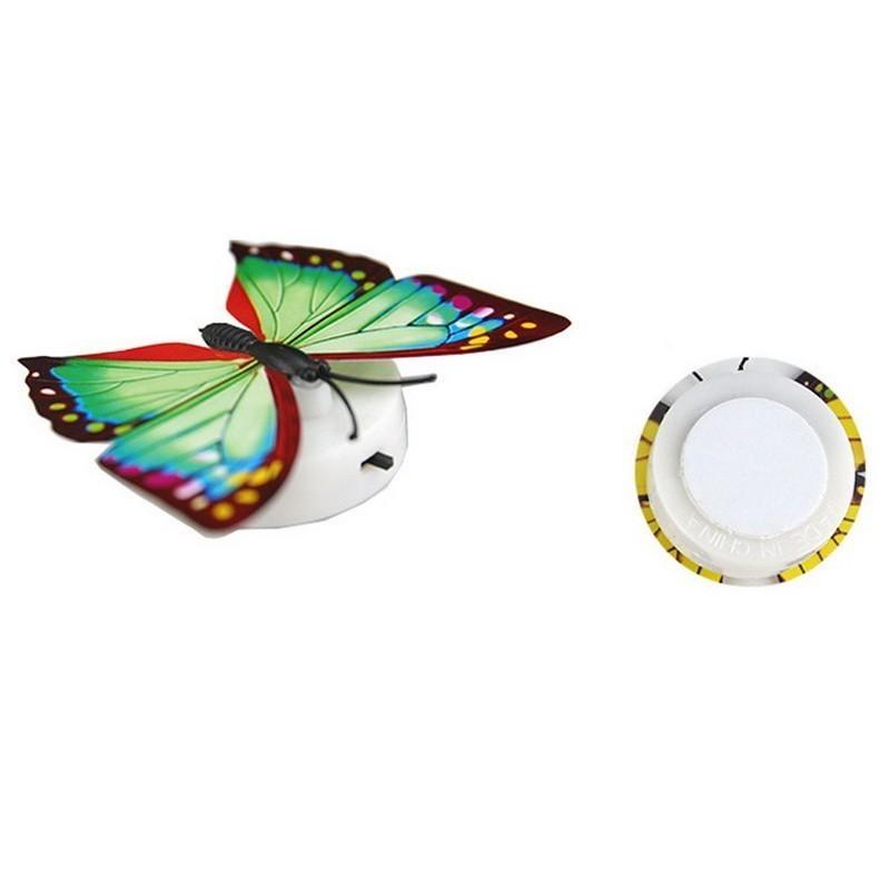 Светящиеся бабочкиРазное для декора<br>Как украсить зеркала, которые расположены на шкафу-купе? Как добавить атмосферу тепла и уюта в салон автомобиля? Если вы ищете элементы декора, которые добавят особую изюминку и позволят поверить в волшебство, то обязательно обратите внимание на светящихся бабочек!<br>