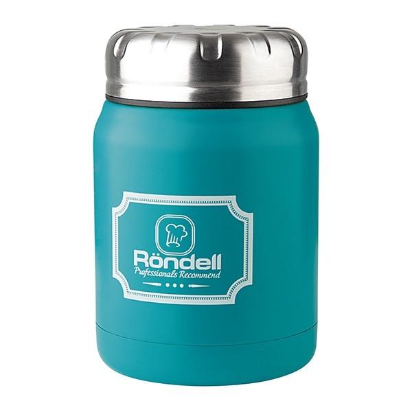 Термос для еды 0,5 л Turquoise Picnic Rondell 944-RDS