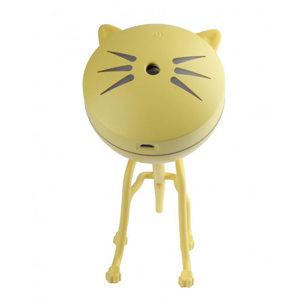 Увлажнитель-ароматизатор воздуха - Котик, жёлтый