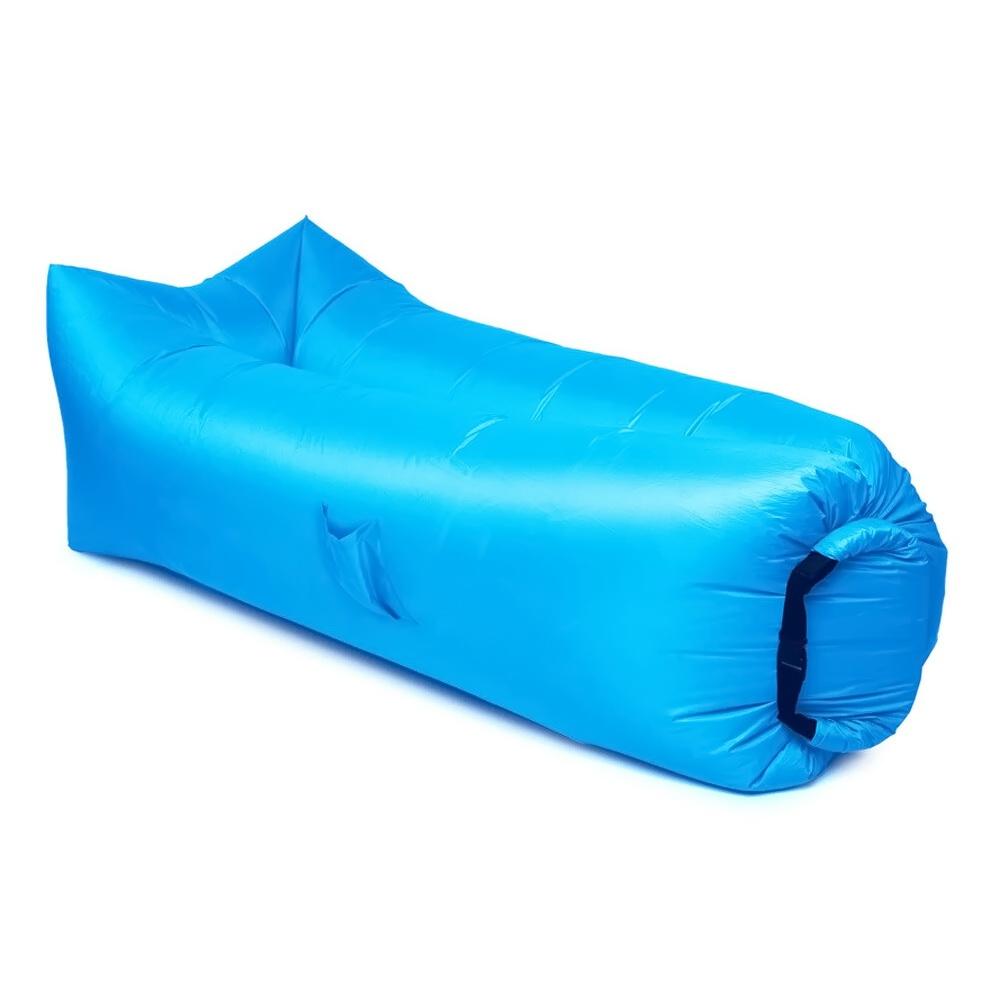 Надувной диван   гамак Ламзак, голубой
