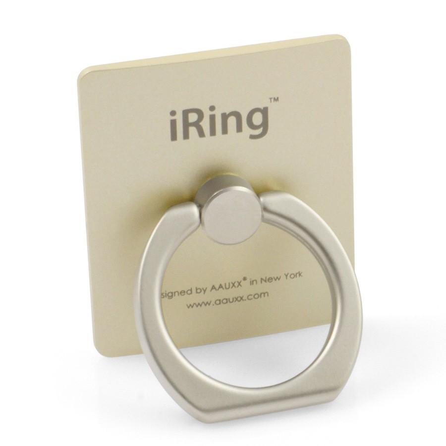 iRing — кольцо держатель для телефона, золотой