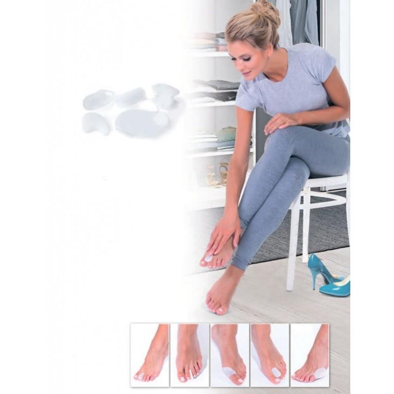 Набор силиконовых протекторов - защита от мозолейОстальные мелочи<br>Новая обувь – это мозоли, водянки и натоптыши? Долой грустные мысли! Носите туфли с удовольствием! Специальный набор силиконовых протекторов защитит ваши пальчики от натирания.<br>