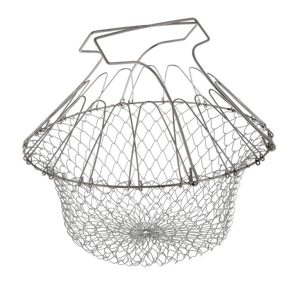 Складная решетка для приготовления пищи Chef Basket (Шеф Баскет) фото