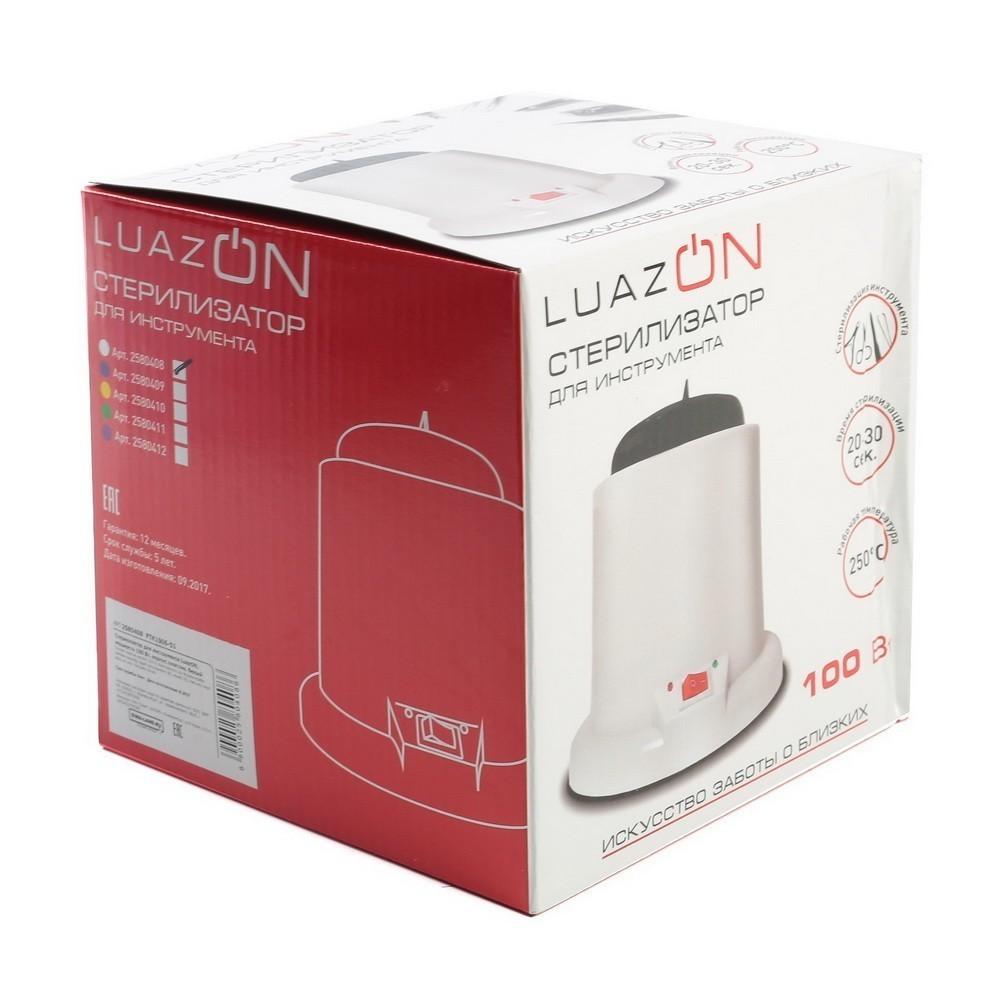 Гласперленовый (шариковый) стерилизатор для маникюрных инструмента LuazON