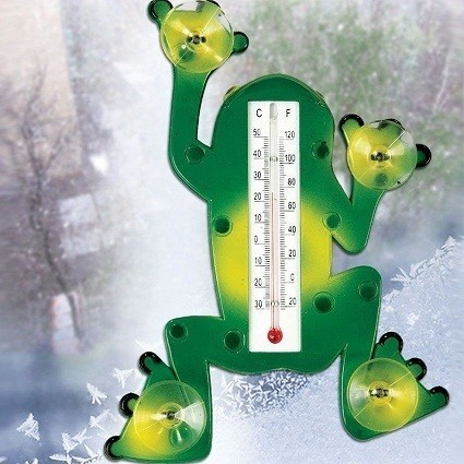 Термометр - Лягушка