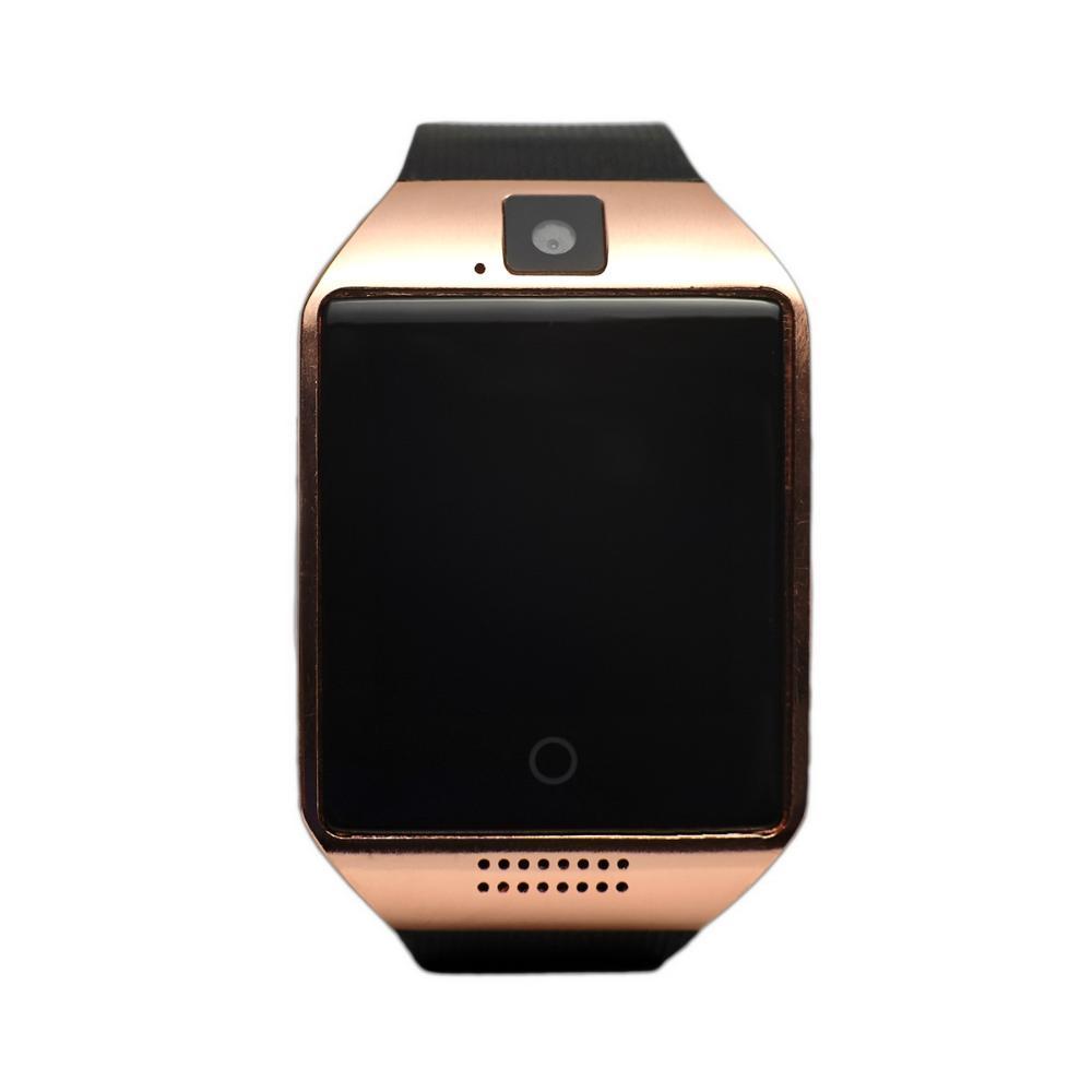 Умные часы Q18S Smart Watch, золотойУмные Smart часы<br>Ваш ребенок пробует ходить в школу самостоятельно? Переживаете за него? Подарите себе спокойствие, а малышу – безопасность, благодаря революционным умным часам Q18S Smart Watch!