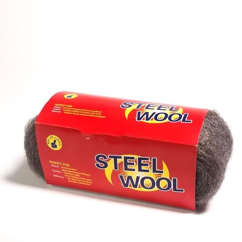 Стальная шерсть (вата) Steel WoolОстальные инструменты<br>Занимаетесь ремонтом или увлекаетесь декором старых вещей, чтобы подарить им новую жизнь? Подготовить поверхность к обработке и с легкостью удалить старый лак, краску, восковые полироли вам поможет инновационная стальная шерсть (вата) Steel Wool, работать c которой очень просто! Изделие подходит для чистки и полировки изделий из бронзы, меди, плитки и стекла. Вы точно ничего не поцарапаете, а главное – быстро получите желаемый результат!<br>
