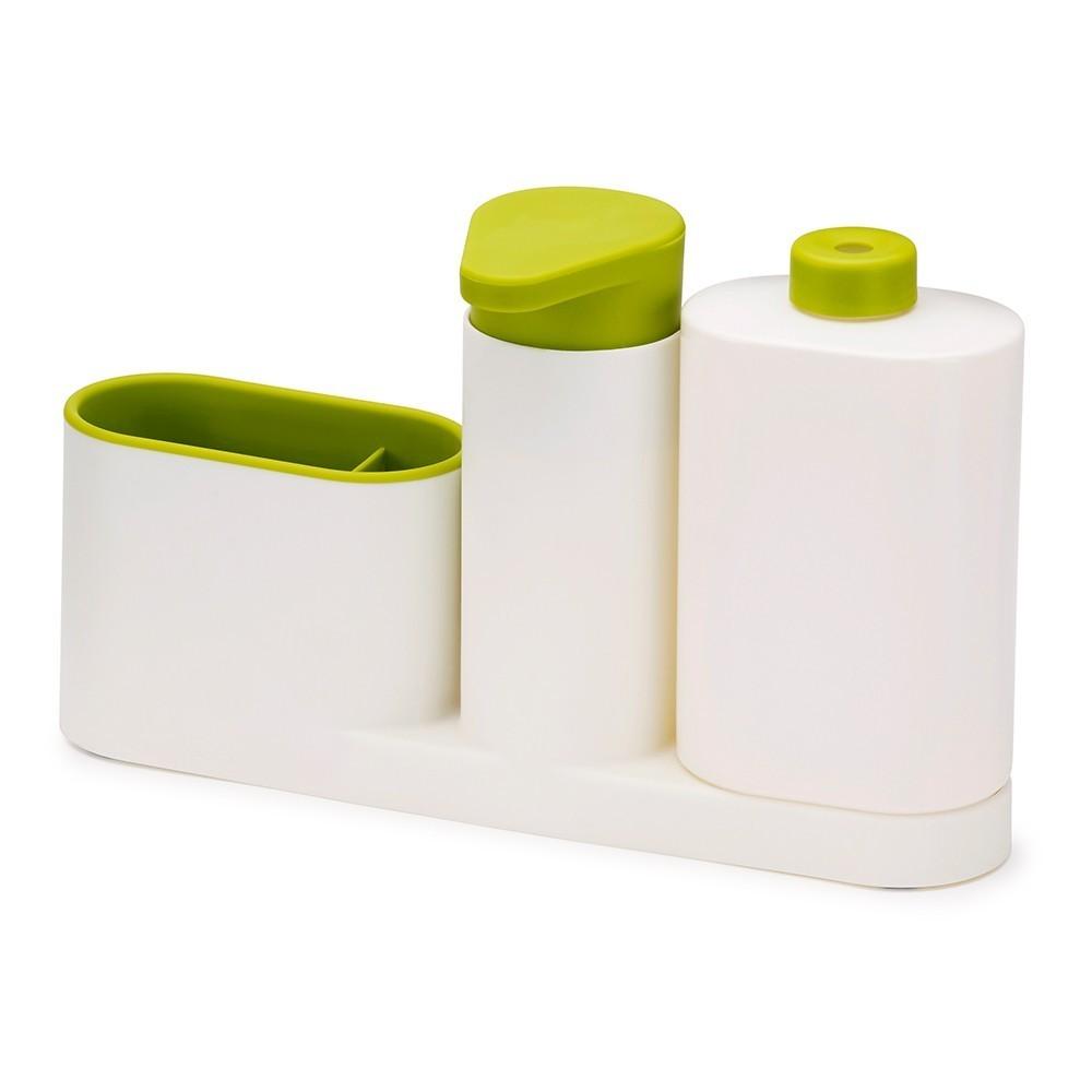 Органайзер для раковины SinkBase PlusОстальное<br>Если на полках в вашей ванной комнате постоянно царит беспорядок, спешите купить инновационный органайзер для раковины SinkBase Plus. Теперь все необходимые предметы будут размещены даже на узкой стороне раковины.<br>